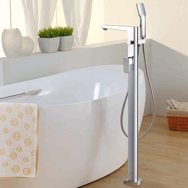 《101衛浴精品》BETTOR 格蘭系列 獨立式 立柱 浴缸龍頭 FH 8129-D53 歐洲頂級陶瓷閥芯【免運費】