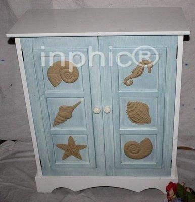 INPHIC-鄉村田園風格家居飾品 特色地中海木質櫃子 櫥櫃 櫥子