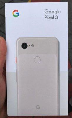 美國代購 全新未拆 美版 Google Pixel 3 XL 128G 空機 無鎖版 台北可面交 支援esim 現貨供應