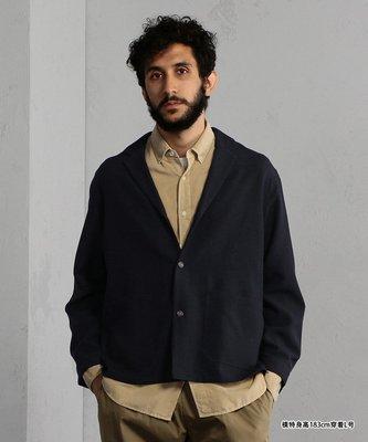 【傑森精品】日本 BEAMS 柔軟 舒適 垂墜感 磨毛 OVERSIZE 落肩 寬鬆 西裝+襯衫式外套 夾克
