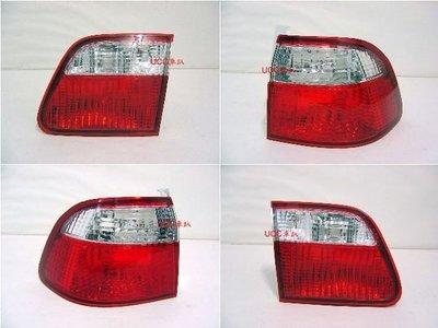 【UCC車趴】HONDA 本田 CIVIC K8 六代 99-00 (改款後) 4D 晶鑽紅白尾燈 一台份2400