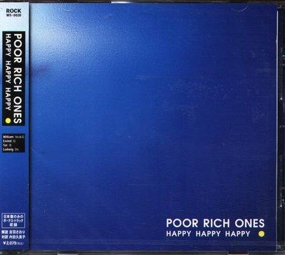 K - Poor Rich Ones - Happy Happy Happy - 日版 +2BONUS - NEW