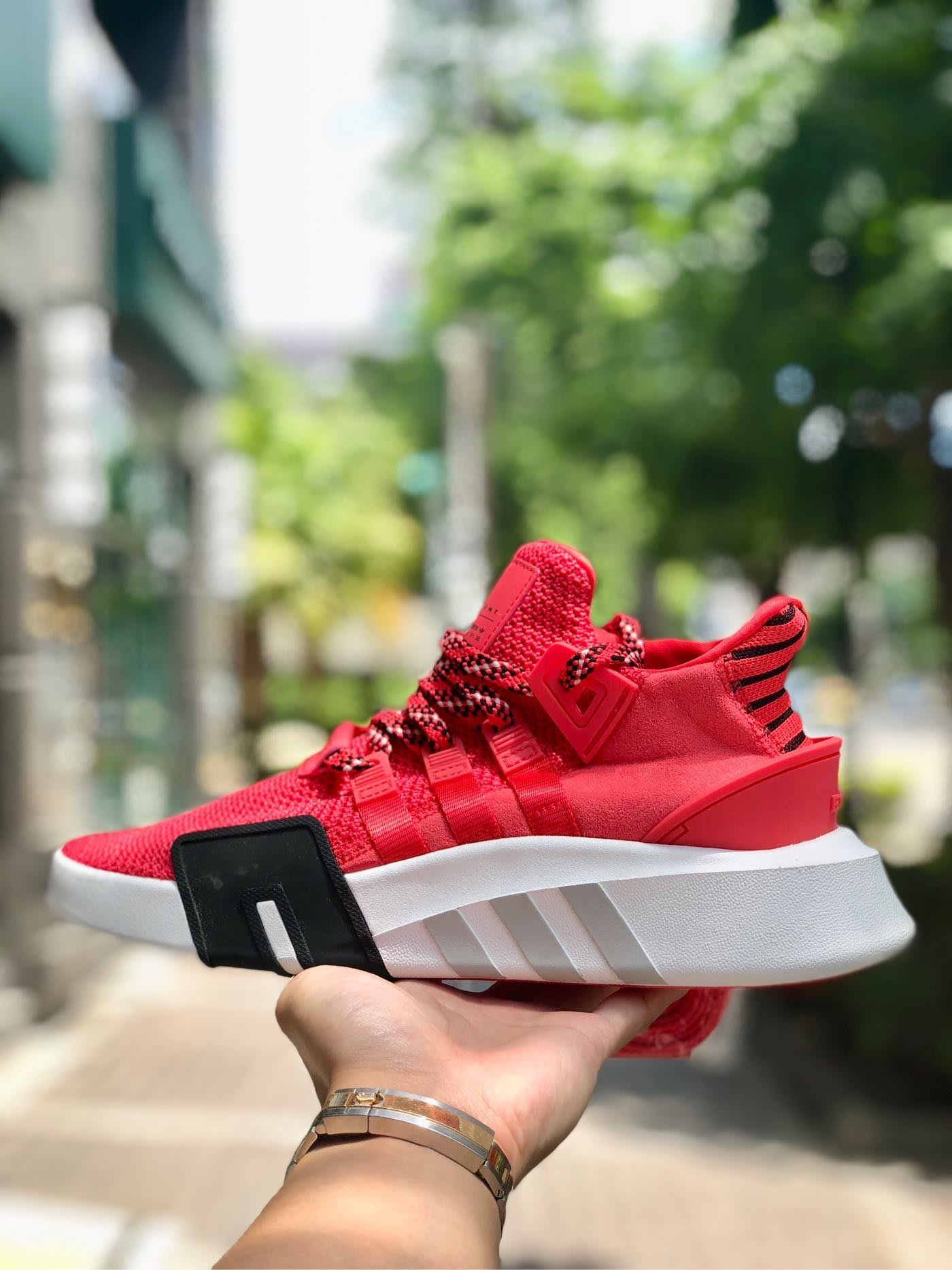 Cheers】adidas EQT Bask ADV Red 紅 紅白