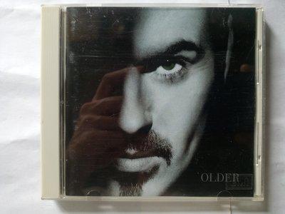 已逝的WHAM!合唱團 George Michael個人1996年第三張專輯 Older。EMI 原版CD外殼有些磨痕