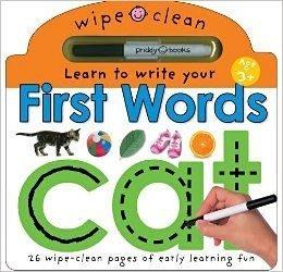 *小貝比的家*FIRST WORDS/WIPE-CLEAN LEARNING/硬頁