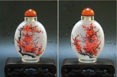 迎春圖中國風工藝禮品出國小禮品中國風家居擺件外事商務禮品內畫鼻煙壺 壺說66