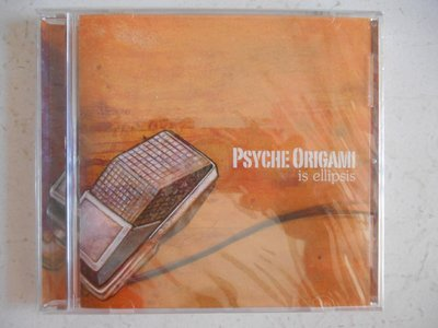 Psyche Origami - Is Ellipsis 進口美版 全新