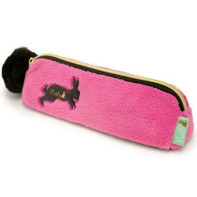 《鬼月破盤》Rab可愛兔兔 造型筆袋/化妝袋/萬用袋,女孩系溫馨小物生日禮物