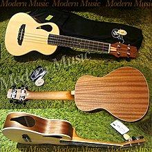 【現代樂器】現貨免運!PEAVEY Composer Ukulele 23吋 烏克麗麗 獨特雙音孔設計 雲杉木面板 附袋