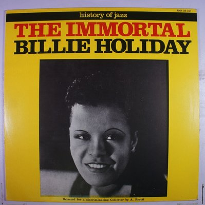 《二手歐版黑膠》The Immortal Billie Holiday