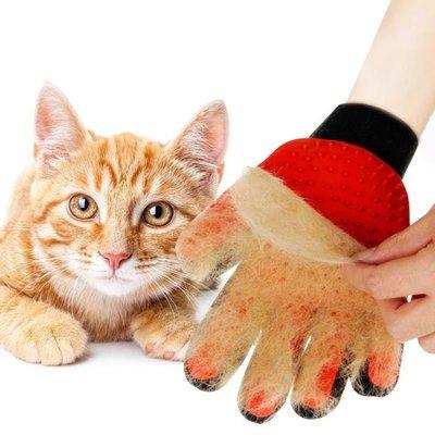 免運 可開發票 寵物除毛脫毛梳寵物毛發清理手套 【聚時代】