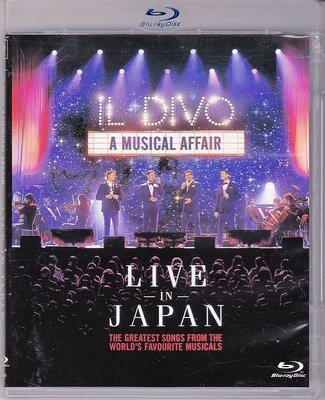 高清藍光碟 Il Divo A musical affair Live in Japan 美聲男伶日本演唱會25G