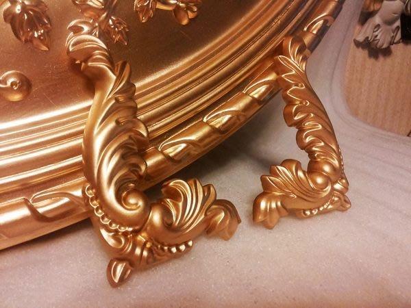 PU 浮雕/佈告欄/花邊/鏡框角花 壁飾 WD-52509-0 壁飾- 金色$360