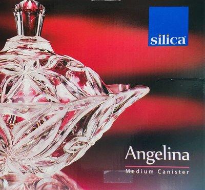 日本製造SOGA強化水晶玻璃收納罐-silica Angelina