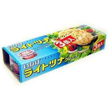+東瀛go+ INABA 三入鮪魚鰹魚罐 80gx3 配飯食品 魚罐頭 油漬鮪魚 拜拜 日本進口 中元普渡