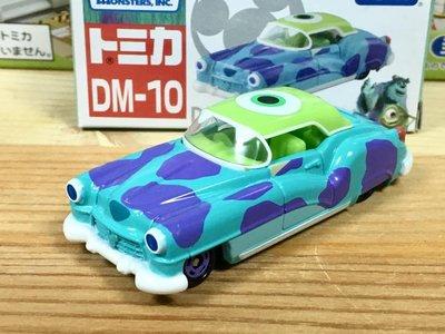 TOMICA (DISNEY) DM-10 怪獸電力公司古董車