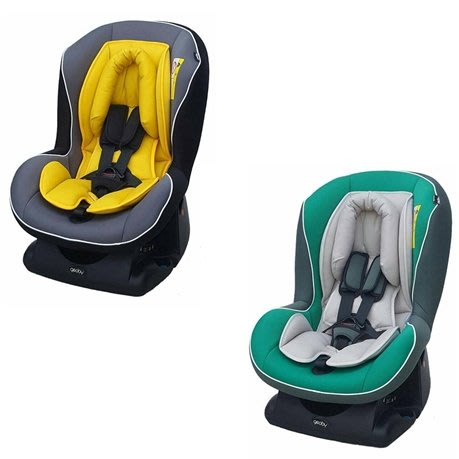 國城geoby-汽車安全座椅(黃色/綠色)CS800E-H