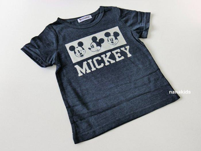 出清夏日款。男童裝。韓版可愛米奇T恤 短袖T恤  (藍色)現貨~nanakids娜娜童櫥