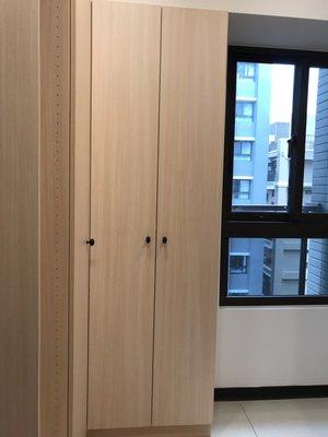 台中系統櫃--雙開門系統收納櫃 { 湯姆 超級收納層板系統櫃 } 客製化