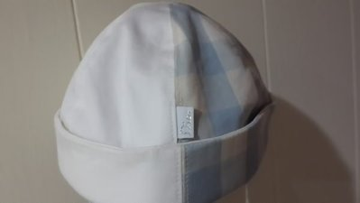 Baby Dior 全新真品 藍白色 100%純棉 T0嬰兒用