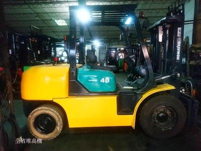 [全省堆高機]日本小松(KOMATSU) 4噸柴油堆高機 2節3米 自排 側移 進口證明  TS證明