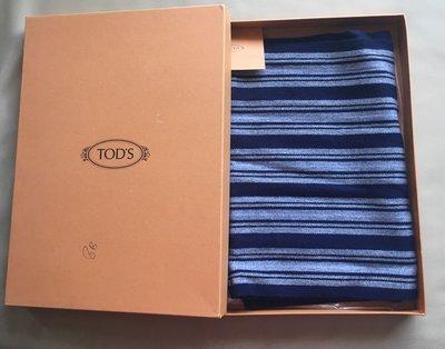 [熊熊之家3]保證全新正品Tods TOD'S 100% Cashmere 圍巾