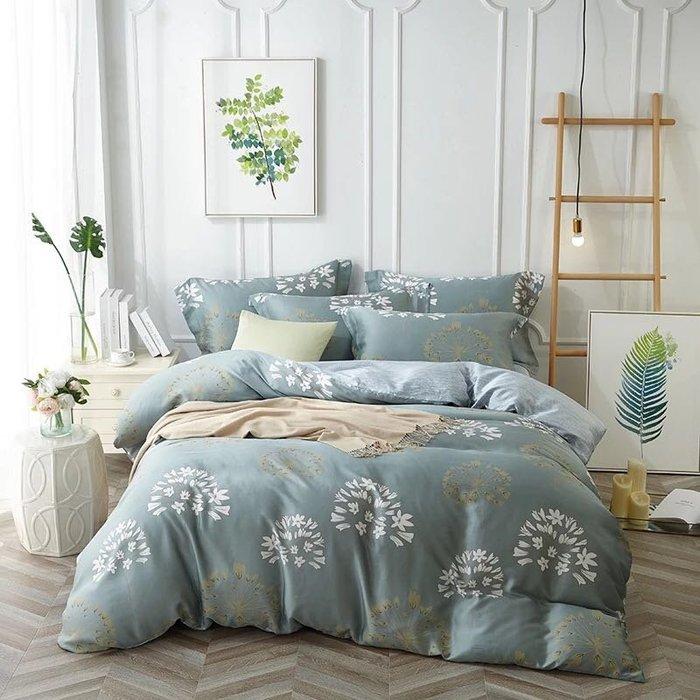 【Little Bed 小床】天絲/柔滑/經典時尚【39AB010】雙人加大床包(6*6.2)四件組