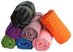 送袋子 ~環保瑜伽墊鋪巾高檔梅花防滑瑜珈墊鋪巾 防滑瑜伽鋪巾瑜珈毯