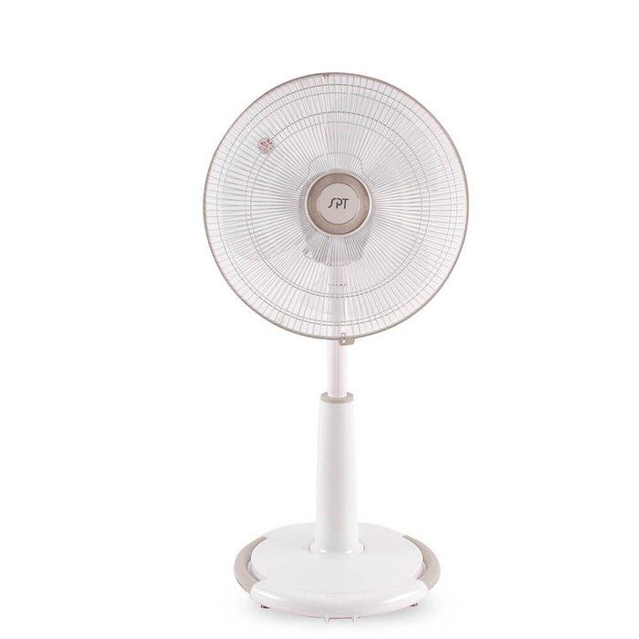 《台南家電館》尚朋堂~14吋8字【SF-1403D】擺頭電風扇,三段風速~台灣製造!正面360度8字風向~