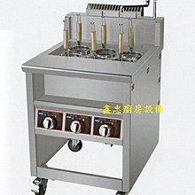 鑫忠廚房設備-餐飲設備:電力式六孔煮麵機-賣場有-烤箱-水槽-咖啡機-西餐爐