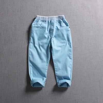 【Mr. Soar】 B576 春季新款 歐美style童裝男童彈力休閒長褲 現貨