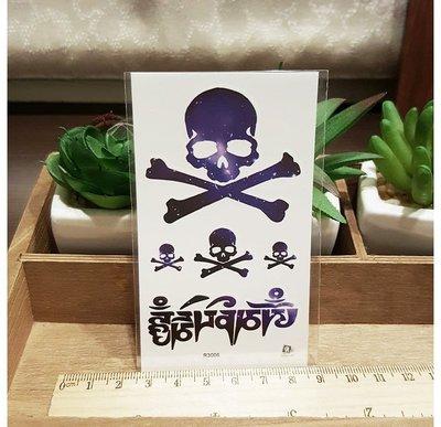 【萌古屋】宇宙骷髏圖案 - 男女防水紋身貼紙原宿刺青貼紙R3006 K63