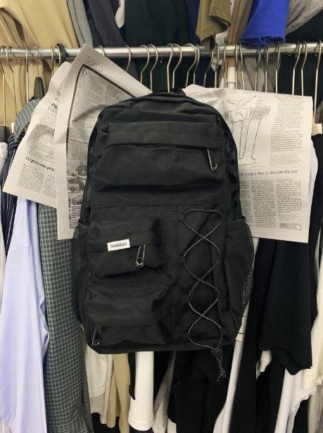 【NoComment】休閒簡約 很有質感好看簡單的尼龍後背包 NIKE Supreme