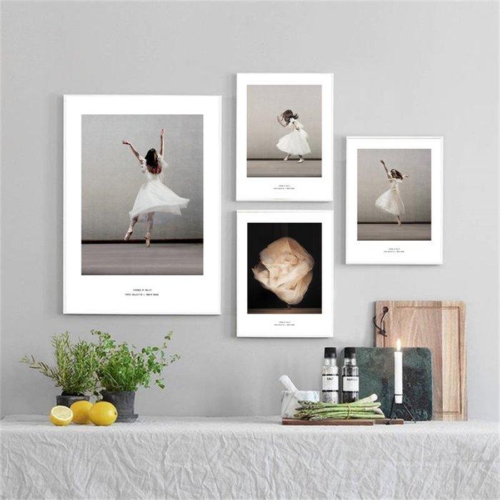 ☺暖暖屋☺傢居藝術館 北歐現代小清新人物跳舞的女孩裝飾畫/沙發背景牆裝飾畫/掛畫/有框畫/多款樣式/多種尺寸