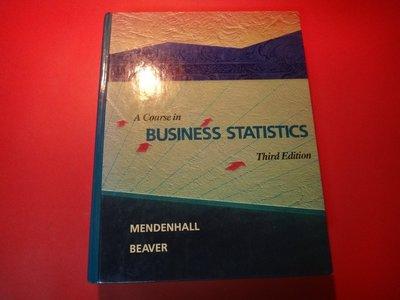 【愛悅二手書坊 07-60】A Course in Business Statistics