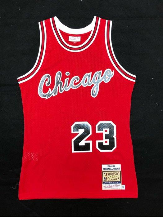 賣個JORDAN NBA 公牛隊 84-85賽季 Michael Jordan 新人年 M&N AU球員版球衣