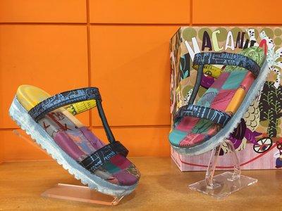 【阿典鞋店】** Macanna**麥坎納專櫃~萊茵河系列2~特殊黃牛皮+羊皮氣墊鞋630060