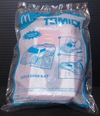 龍廬-自藏出清~麥當勞兒童餐玩具-2017年TOMICAXLOTUS EXIGE R-GT小汽車/起標為單組/只有2組