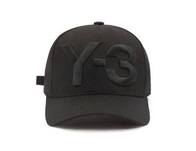愛迪達 Y-3棒球帽洋基隊男女鴨舌帽情侶字母遮陽防曬帽子 棒球帽 高爾夫球帽 網帽 網球帽 adds y3帽子