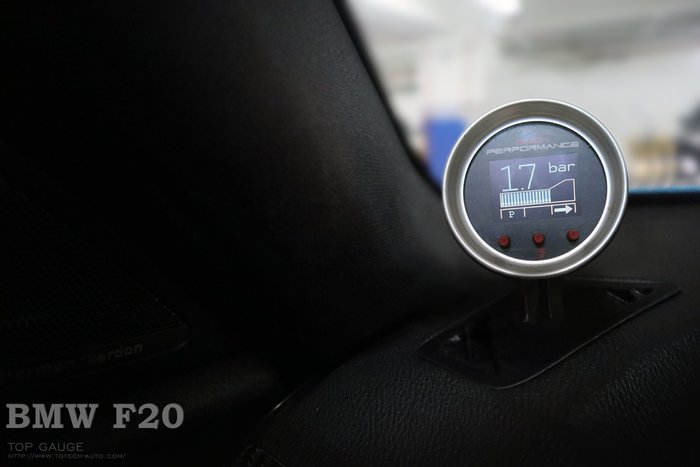 【精宇科技】Top Gauge BMW F20 116 118 125 SNOW AEM 水噴射 VC50 專用錶座
