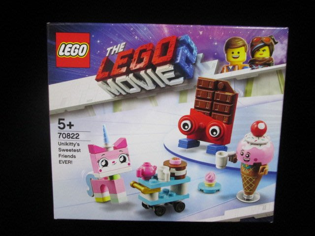 (STH)LEGO 樂高 玩電影2-Unikittys Sweetest Friends EVER!  70822