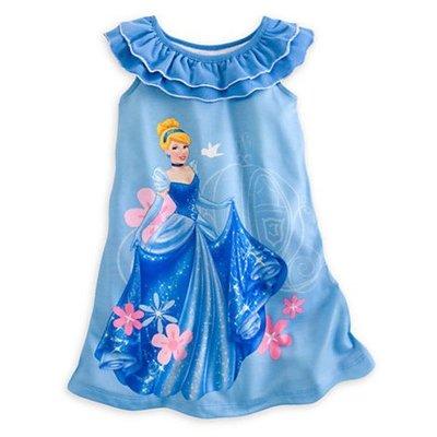 【豆芽Tsai美國商品】美國正品迪士尼 Disney  仙杜瑞拉 短袖連身睡衣   [ 550元含運費 ]
