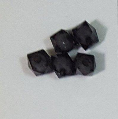 164 黑色系串珠 精美珠子有孔 (一顆珠子價錢) 質感很亮麗的唷!