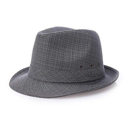 @新風夏季遮陽用品 帽子男春夏天太陽帽中年男士夏天遮陽帽子亞麻禮帽中老年人防曬帽