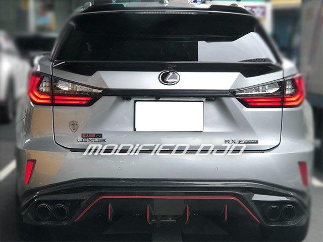 DJD19092821淩志 Lexus RX200T RX350 RX450 ART款 碳纖維 carbon中尾翼