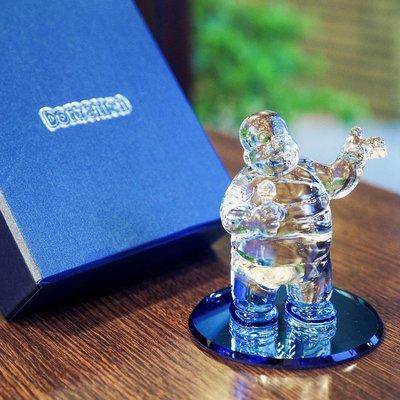 胖虎 技安 水晶玻璃公仔 哆啦a夢 擺飾 玩偶 小叮噹收藏 可愛 卡通 生日禮物 情人節禮物 Doraemon a夢久久