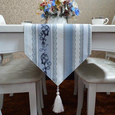 衣萊時尚-簡約現代桌旗歐式時尚地中海淺...