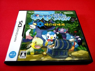 ㊣大和魂電玩㊣任天堂NDS遊戲  神奇寶貝 不可思議的迷宮 時之探{日版}NDSL 2DS 3DS 主機可玩-編號:A1