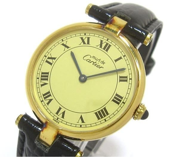Cartier 男&女錶~坦克系列~100%真品~單盒齊全