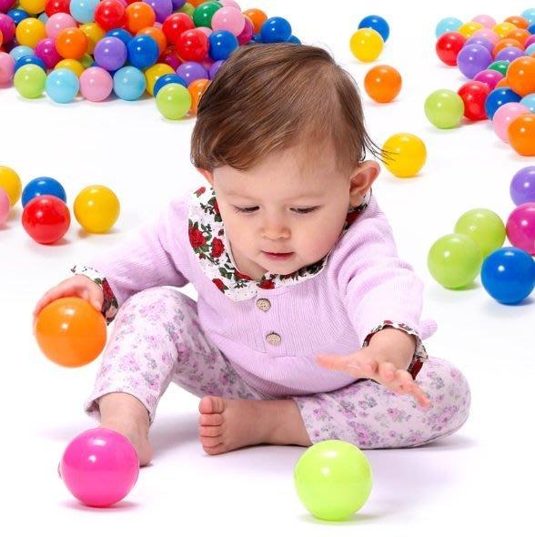 佳佳玩具 ----- 100顆 球屋 塑膠球 波波球 遊戲球 SGS/CE 認證7公分 台灣製造【0514940】